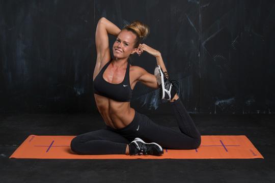Yoga Expertin Janis Bär