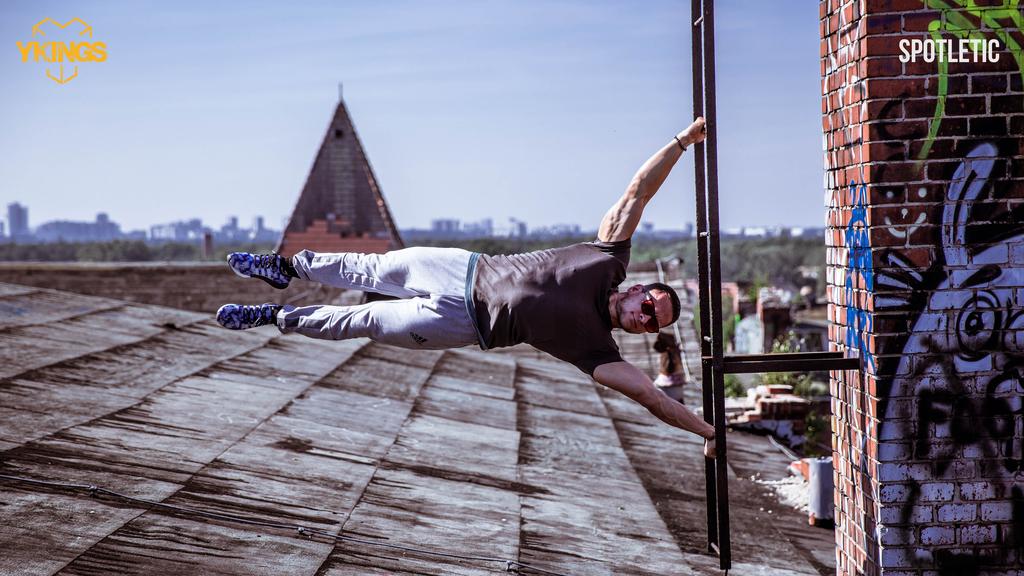 Denis Vitaliev Calisthenics übung outdoor