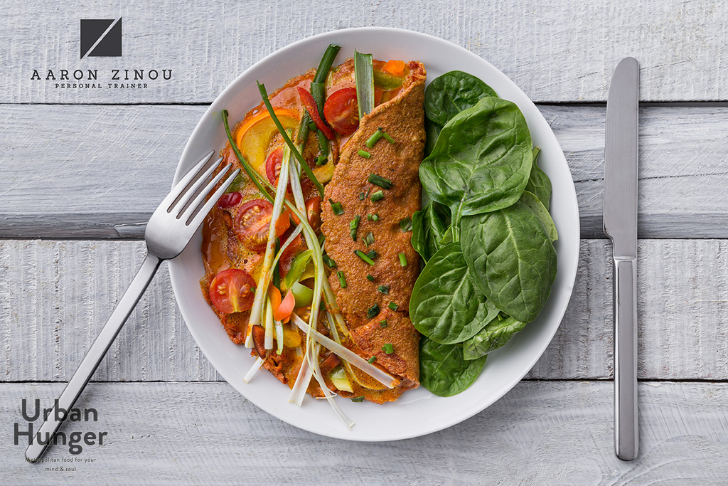 Kurkuma Omelett Rezept Beitragsbild