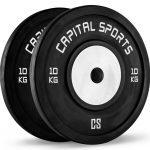 Capital Sports Gewichtsscheiben Inval Hi grade Competition BumperPlates 50mm