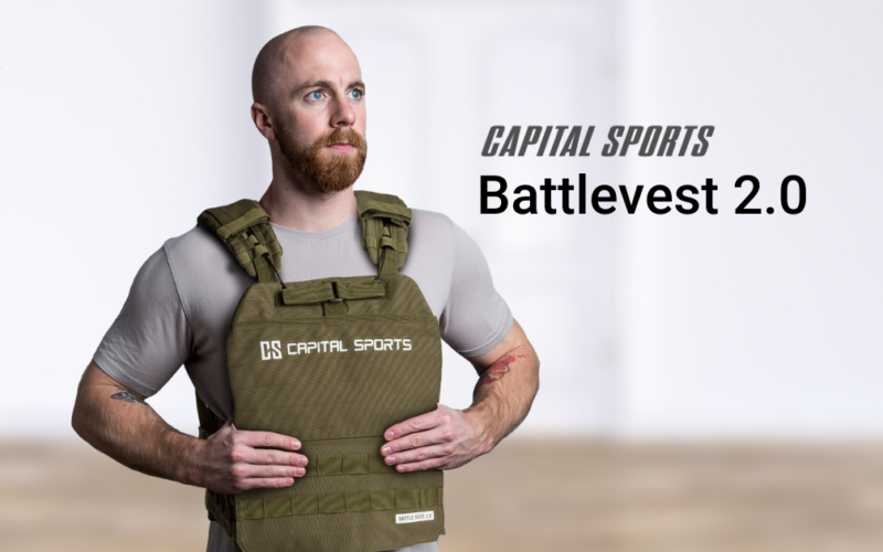 Capital Sports Battlevest 2.0 khakigrün