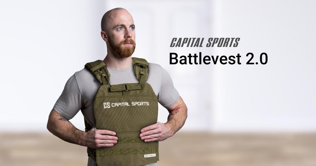 Capital Sports Battlevest 2.0 khakigrün