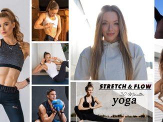 Collage aus Fitnessinfluencern
