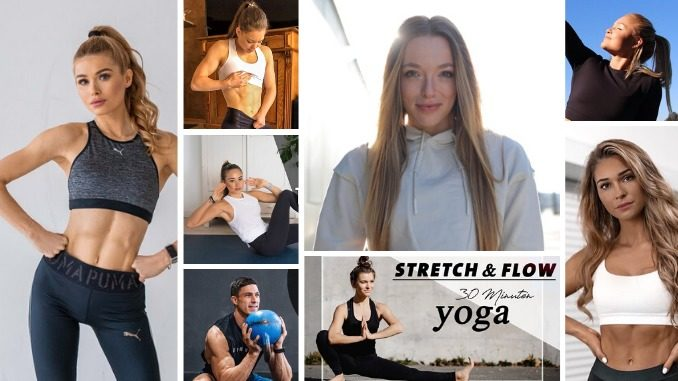 Collage aus Fitnessinfluencern