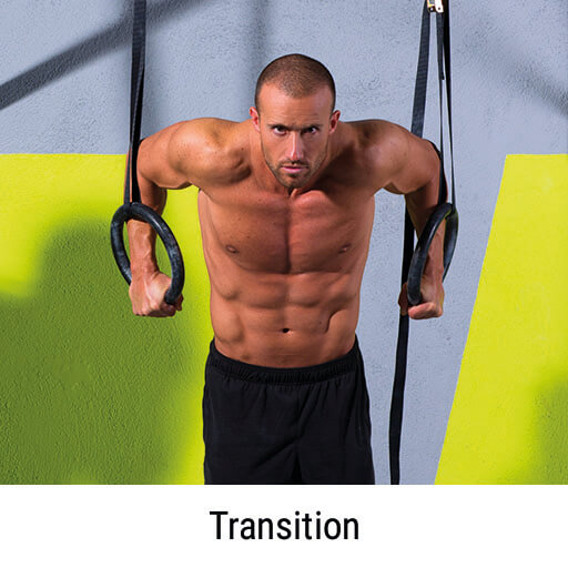 Muscle Up Transition am Turnring