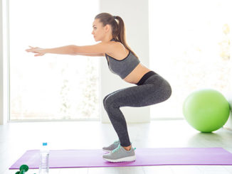 Beitragsbild Frau macht einen Squat