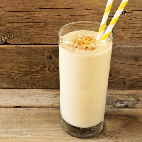 Erdnussbutter Shake