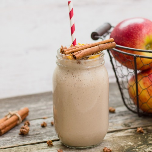 Apfel Zimt Post Workout Shake